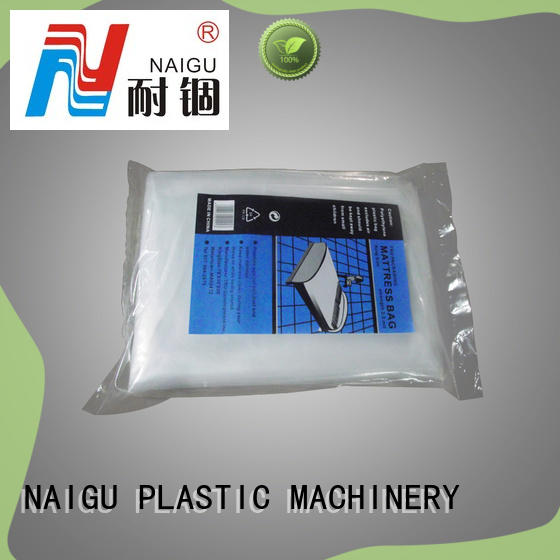NAIGU plastic mattress bag factory for king size mattresses