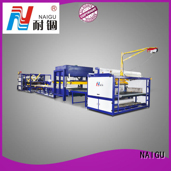 NAIGU cost-effective mattress rolling machine easy to operation for latex mattresses