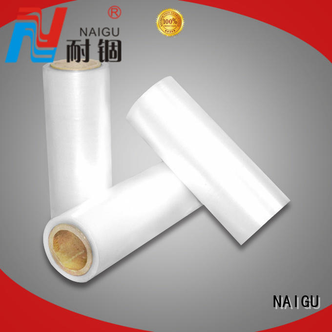 NAIGU Brand various high puncture resistance protective Pe shrink film manufacture