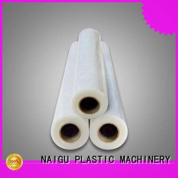 NAIGU Pe plastic film supplier for bag making