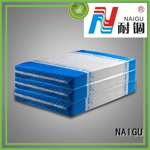 NAIGU plastic mattress bag design for queen size mattresses