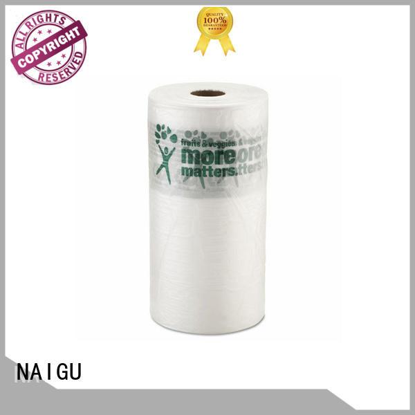 supermarkets good appearance NAIGU Brand Plastic bag roll