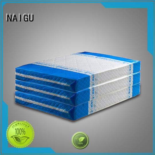 NAIGU Brand gusseted corresponding size mattress bag for moving printed supplier