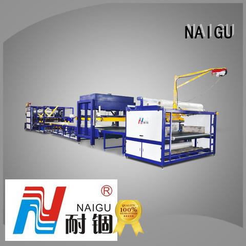 NAIGU professional mattress rolling machine easy to operation for pocket spring mattresses