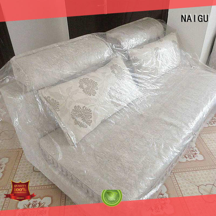 sofa plastic couch cover protection for storage NAIGU