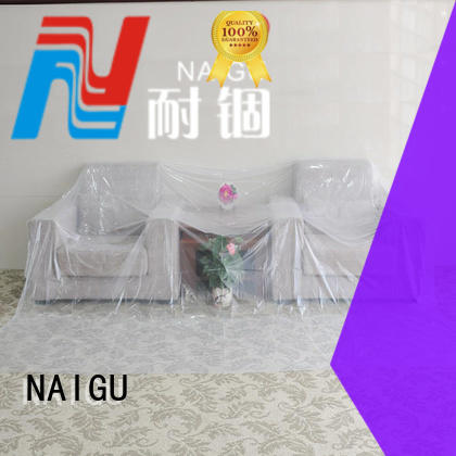 heavy duty plastic sheeting avoid easy Polythene sheet dustproof NAIGU Brand