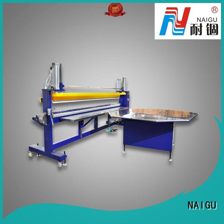 NAIGU technical Mattress packing machine online for seal film