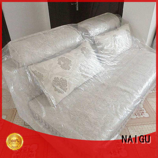 transparent plastic furniture cover supplier for household