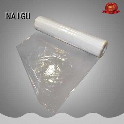 popular big plastic bag with bottom seal for household