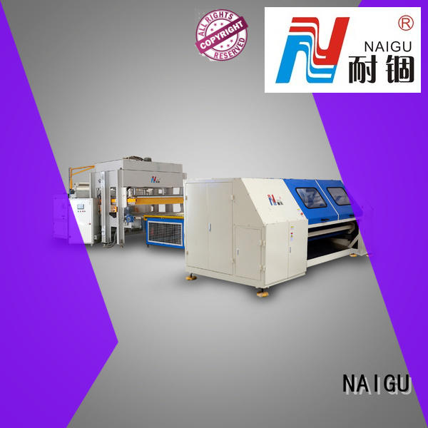 NAIGU mattress rolling machine high efficiency for pocket spring mattresses