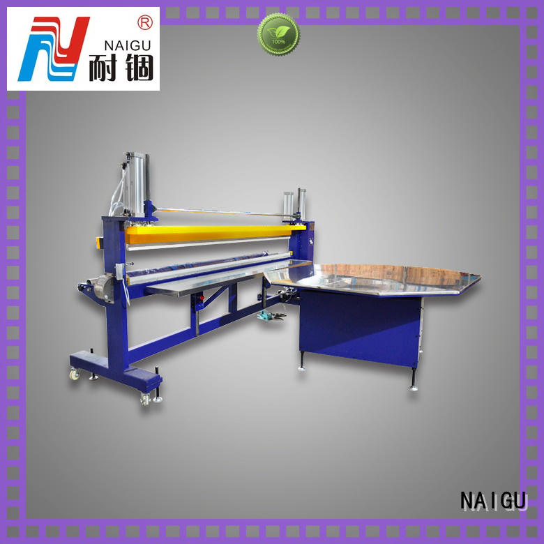 NAIGU Mattress packing machine online for seal film