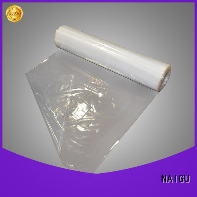 NAIGU durable clear plastic bags factory price for packaging
