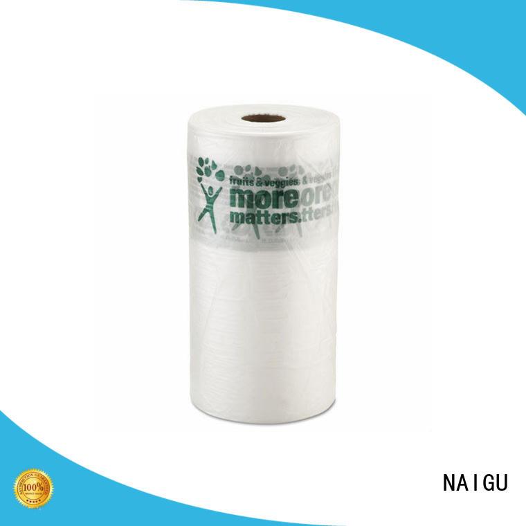 popular Plastic bag roll factory price for household