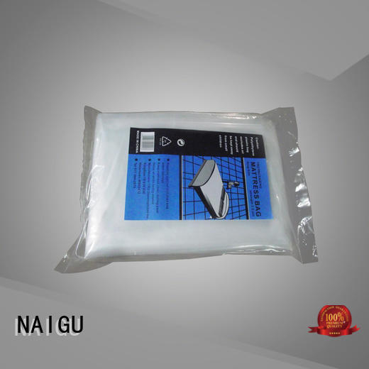 NAIGU waterproof Mattress bag factory for double mattresses