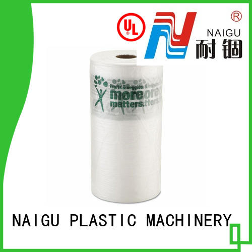 NAIGU durable clear plastic bags with bottom seal for wrapping