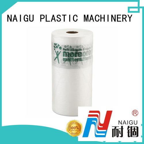 NAIGU Plastic bag roll pre-opened for packaging