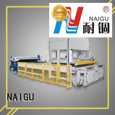 NAIGU cost-effective Mattress compression machine high efficiency for pocket spring mattresses