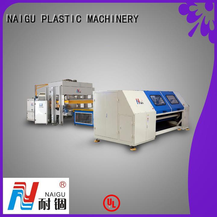 NAIGU standard mattress rolling machine easy to operation for pocket spring mattresses