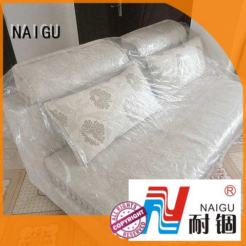 NAIGU anti-aging plastic furniture cover supplier for travel