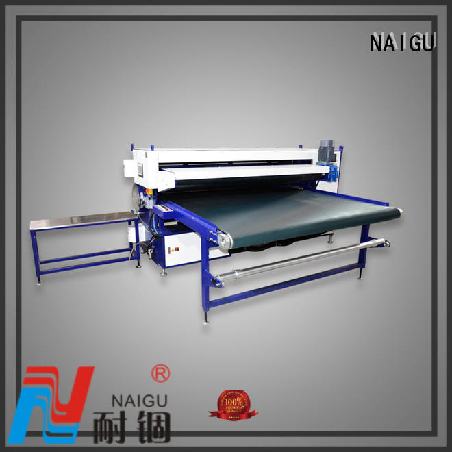packing Mattress rolling machine pillow semi-automatic NAIGU company