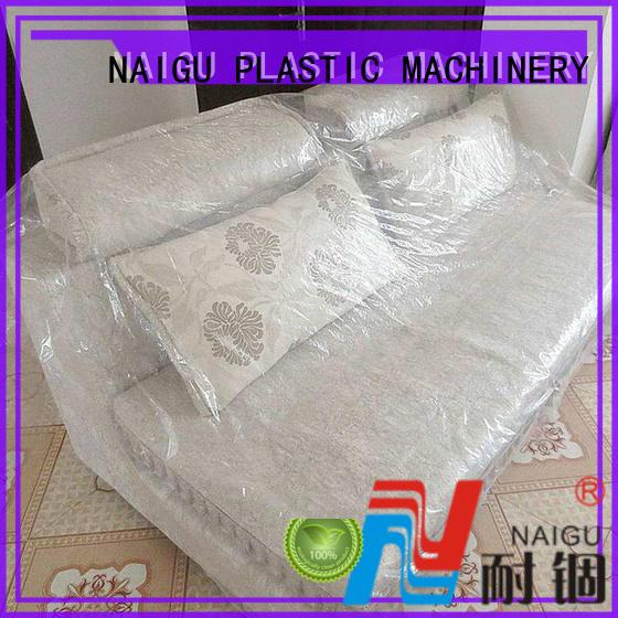 large size good transparency odorless plastic furniture cover NAIGU Brand