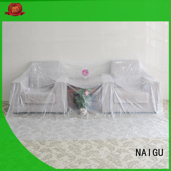 NAIGU Polythene sheet personalized for painting