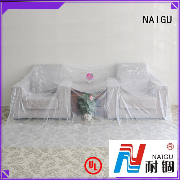 NAIGU durable polythene cover personalized for painting