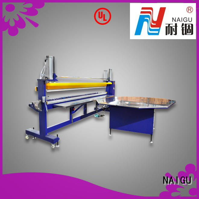 NAIGU waterproof mattress packaging machine supplier for cut film