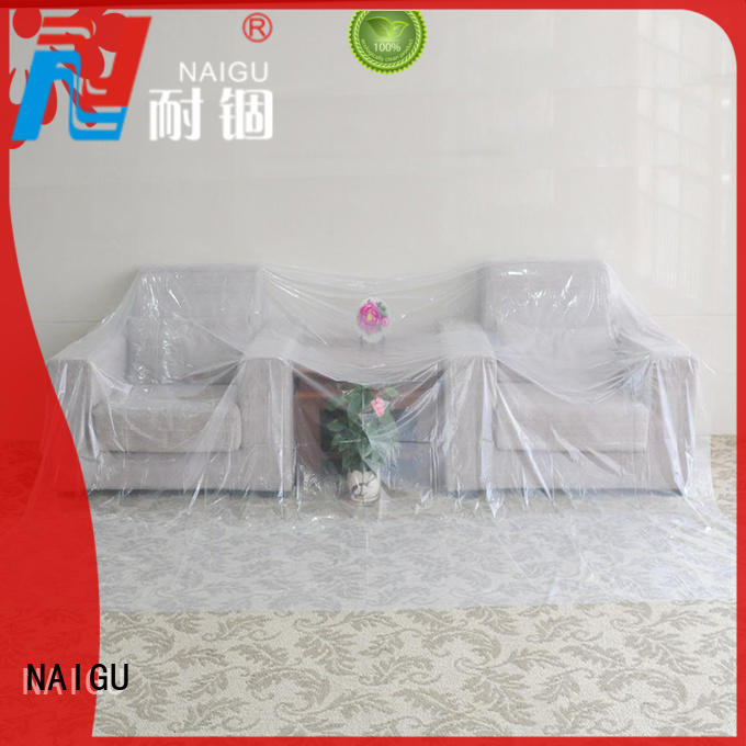 Quality NAIGU Brand easy decorating Polythene sheet