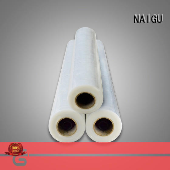 NAIGU good quality Pe plastic film supplier for plastic industry