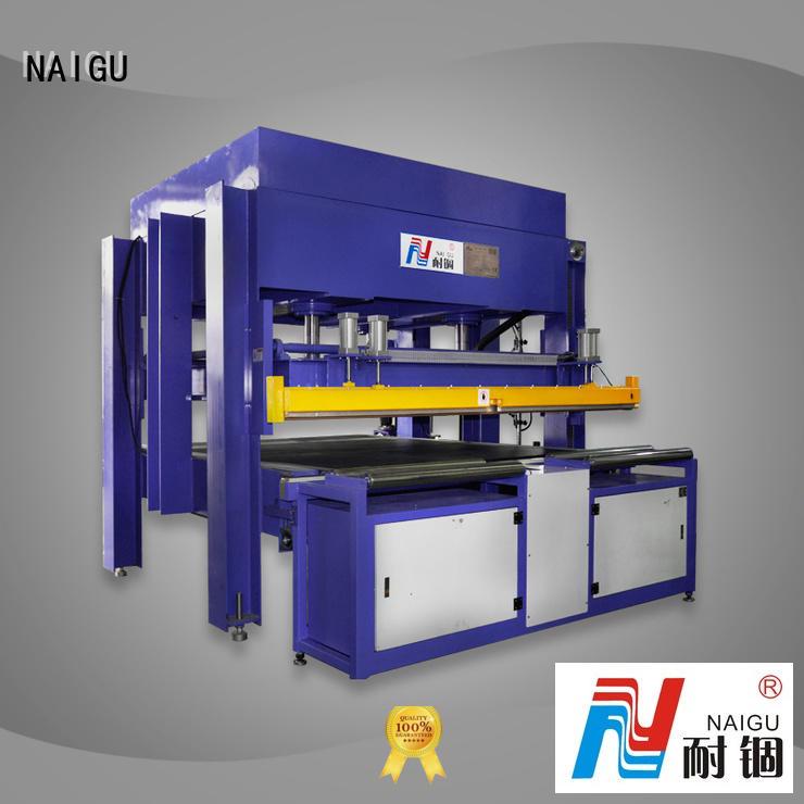 NAIGU automatic compression machine online for plant