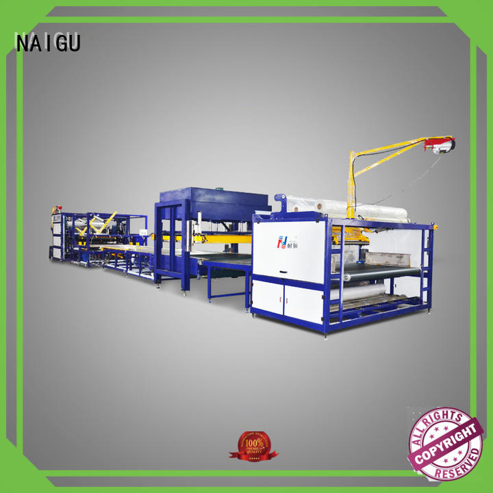 equipment full sides NAIGU Brand mattress production machines supplier