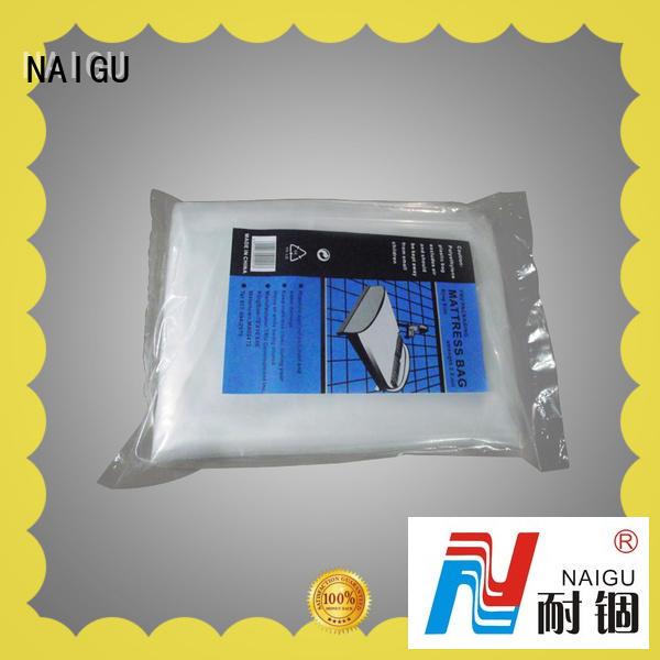 NAIGU customized plastic mattress bag inquire now for double mattresses