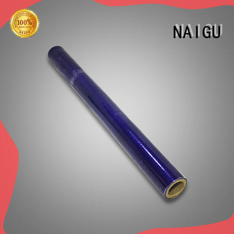 NAIGU pvc film roll directly sale for materials