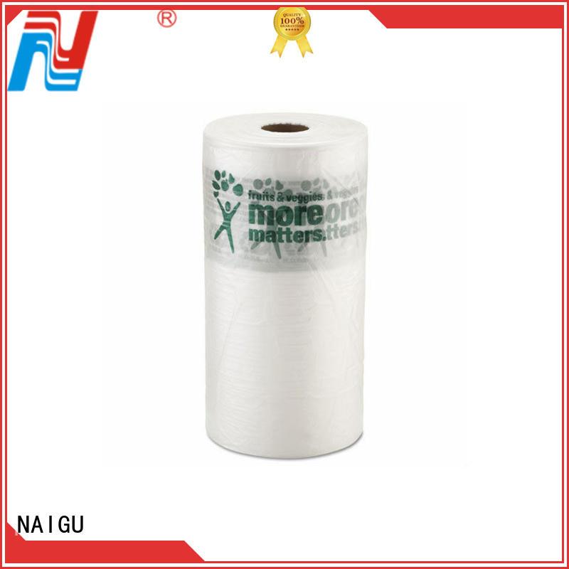 supermarkets sizes various plastic roll NAIGU Brand