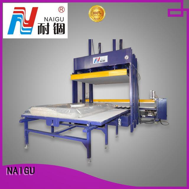 NAIGU adjustable Mattress compression machine directly sale for workshop